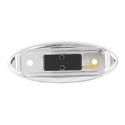 Grand General 80349 Marker Light (Clear Plastic Oval Rim for Med. Rectangle), 1 Pack: Automotive [5Bkhe1001819]