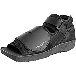 ProCare Squared Toe Post-Op Shoe, Medium (Shoe Size: Men's 7.5 - 9 / Women's 8.5 - 10)