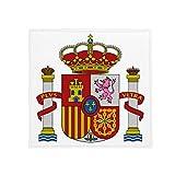 DIYthinker Spain Europe National Emblem Anti-slip Floor Pet Mat Square Bathroom Living Room Kitchen Door 60/50cm Gift