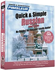 Pimsleur Russian Quick & Simple Course - Level 1 Lessons 1-8 CD: Learn to Speak and Understand Russian with Pimsleur Language Programs (Volume 1)