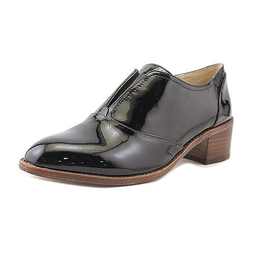 c5af9587e03 Louise et Cie Women s Freyer Slip On Black Soft Cow Patent Size 7.5 ...
