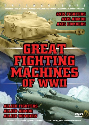 Wwii Machine - Great Fighting Machines Of Wwii: 6-dvd Set
