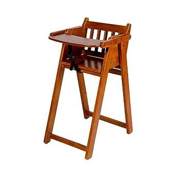 Chaise Haute Pour Enfants En Bois Massif Table A Manger Chaises Pliantes Portables Multifonctions