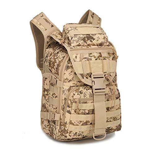 Fishing Bag 40L Army Pack Package Travel Shoulder Bag Desert Digital by Purpume
