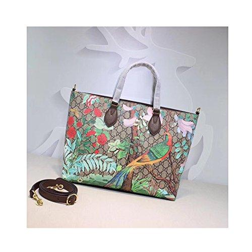 (GG Cross-body Bag for Womens Handbag Designer Fashion Single Shoulder Messager Bags-painting of flowers)