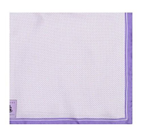 Robert Talbott Lavender Silk Pocket Square 16
