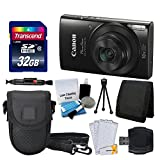 Canon PowerShot ELPH 190 IS Digital Camera (Black) + Transcend 32GB Memory Card - Best Reviews Guide