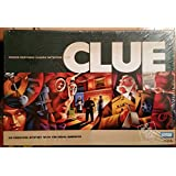 CLUE -- Parker Brothers Classic Detective Game -- An Unsolved Mystery With The Usual Suspects -- Family Age 8+