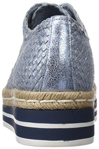 Azul para Zapatos Jeans 341 Cordones Mujer Quintana 6651 Pons de Derby 001 fzwF710Fqv