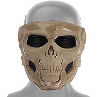 Tawcal Máscara Táctica de Airsoft del Cráneo, Máscara