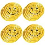 """Amscan Fun-Filled Yellow Mini Smiley Maze Puzzles Party Favours, Plastic, 2 3/4"""", Pack of 12"""