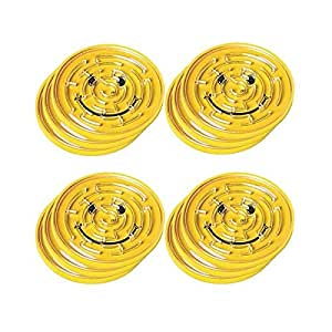 """Fun-Filled Yellow Mini Smiley Maze Puzzles Party Favours, Plastic, 2 3/4"""", Pack of 12"""