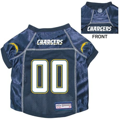 San Diego Chargers Pet Dog Football Jersey