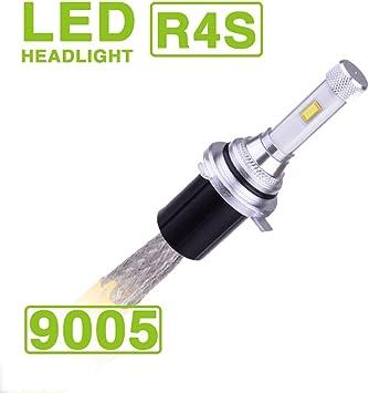 9005//HB3//H10//9145//9140 LED Headlight Bulbs 60W 10400Lumens 6000K High Beam Fog light All-in-one Conversion Kit White Pack of 2