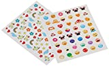 NPW Nail Art Stickers (160 Pieces), Unicorns and Cats