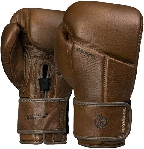 Hayabusa | Kanpeki Elite Leather Boxing Gloves | Brown | 16oz