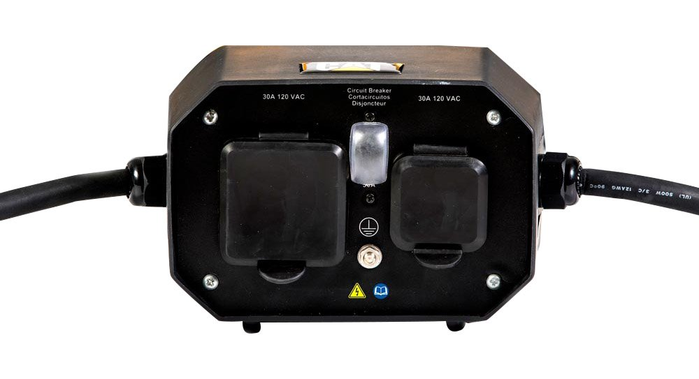 Cat Power Accessories Parallel Kit, Black