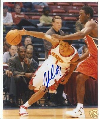 Josh Childress Atlanta Hawks Signed 8x10 Photo W/coa - Autographed NBA (Josh Childress Atlanta Hawks)