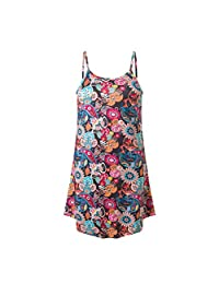 HHmei Women's Summer Casual Dress, Halter Neck Straps Sleeveless Party Sundress