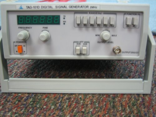 Audio Signal Generator TAG101D