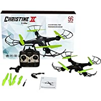 Skyking WiFi RC Drone with camera,Quadcopter with Wide-Angle HD Camera Live Video,2.4GHz 4CH 6-Axis Gyro APP Control FPV Drone, Headless Mode Function