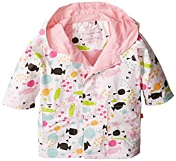 Magnificent Baby Baby-Girls Newborn Sweet Treats Raincoat, Multi, 24 Months