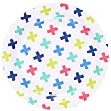 We Love Sundays Crosses Paper Plates | 10-Pack | Great for Various Themed Parties