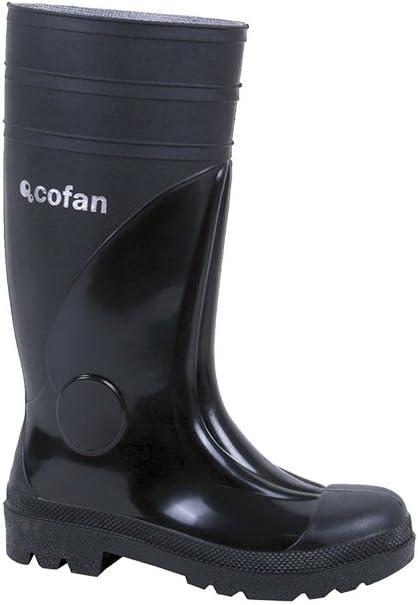 Cofan 12001542 Bota de Agua con Puntera y Plantilla de Acero Negro S-5 T-42
