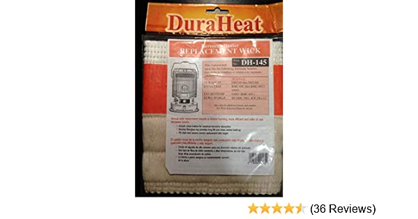 DuraHeat Kerosene Heater Wick Model DH 145 - Home Outdoor Heater Accessories - Amazon.com