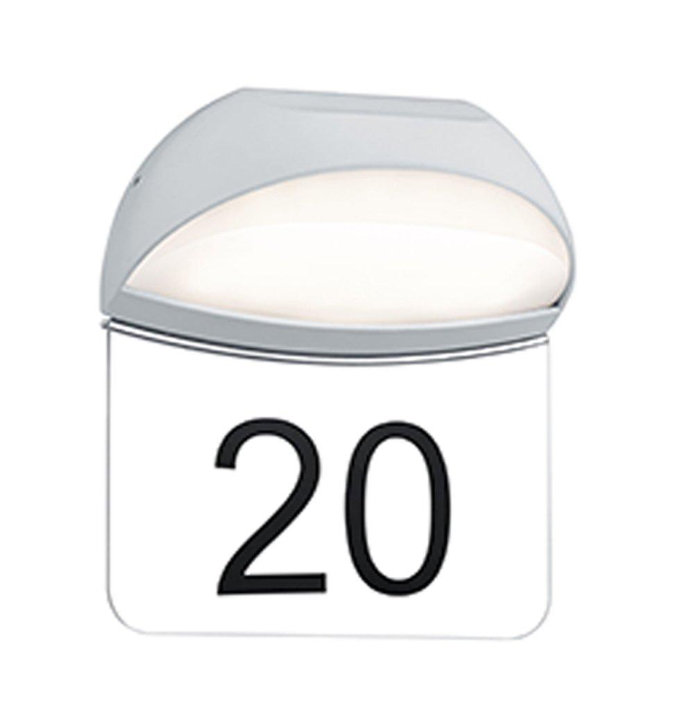 Trio Leuchten LED-Aussen-Wandleuchte Muga Aluminiumguss, weiß , Sicherheitsglas klar 228360101