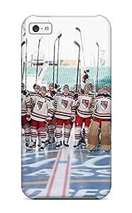 DanRobertse Perfect Tpu Case For Iphone 5c/ Anti-scratch Protector Case (new York Rangers Hockey Nhl (76) )