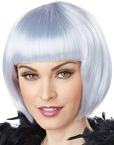 California Costumes Women's Flapper Wig, Lavender/Gray, One (Popular Halloween Costumes For Couples 2016)