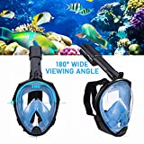 Foldable Full face Snorkeling mask with New