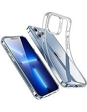 ESR Przezroczyste etui kompatybilne z iPhone 13 Pro Max, krystalicznie przezroczyste odporne na wstrząsy cienkie silikonowe etui, odporne na żółknięcie cienkie przezroczyste etui na telefon TPU, seria Project Zero, przezroczyste