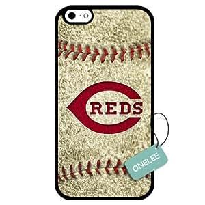 Onelee(TM) - Customized MLB Cincinnati Reds Team Logo Design TPU Apple iPhone 6 Case Cover - 3 by mcsharks