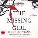 The Missing Girl Audiobook by Jenny Quintana Narrated by Karen Cass