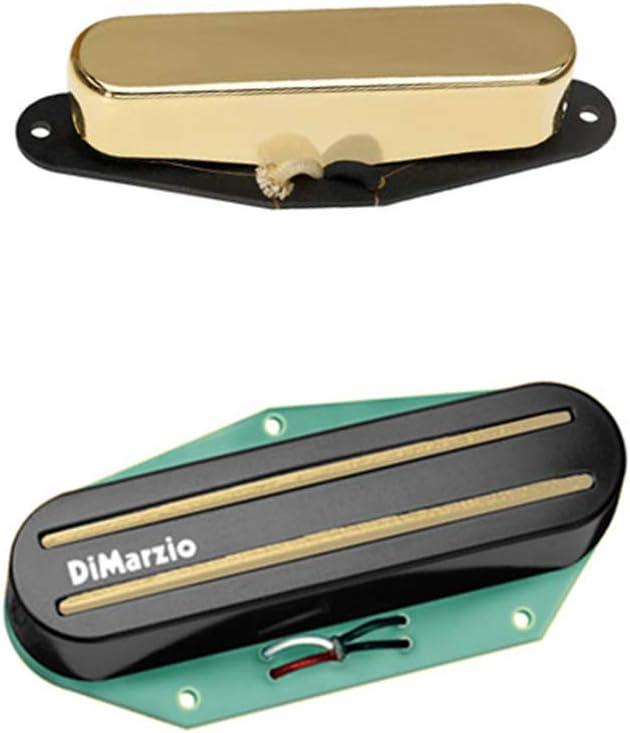 DiMarzio Chopper T Gold Rail & Twang King Gold Telecaster - Juego de pastillas: Amazon.es: Instrumentos musicales