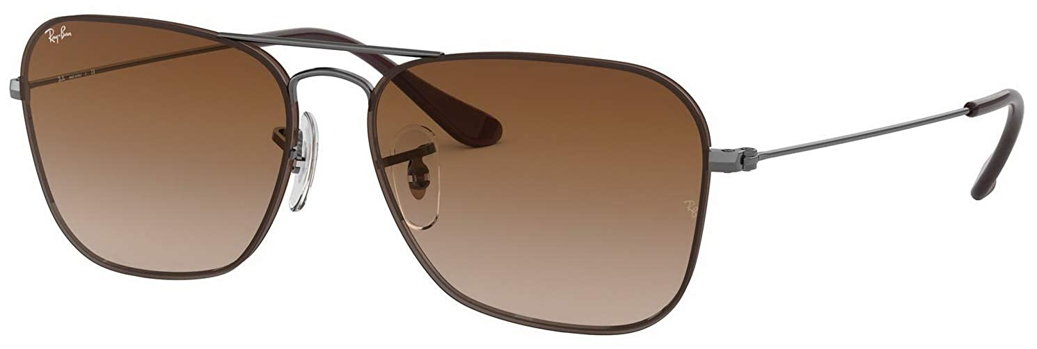 20d4a3045a21e Amazon.com  Ray-Ban RB3603 Unisex Brown Gradient Sunglasses 004 13  Clothing