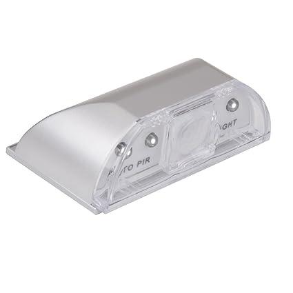 Pir Sensor De Movimiento Infrarrojo Automático Inalámbrico Ir Detectar Ojo De La Cerradura 4 Lámpara De