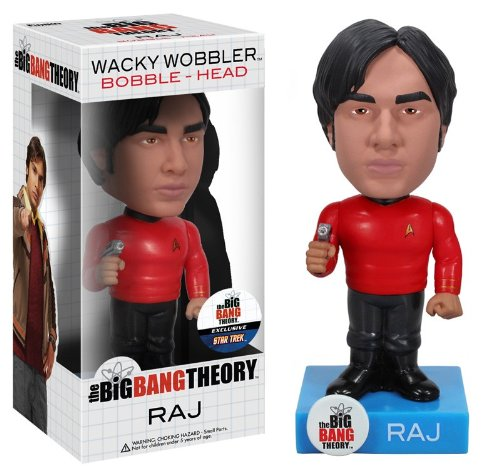 Funko Star Trek Big Bang Theory: Raj Wacky Wobbler