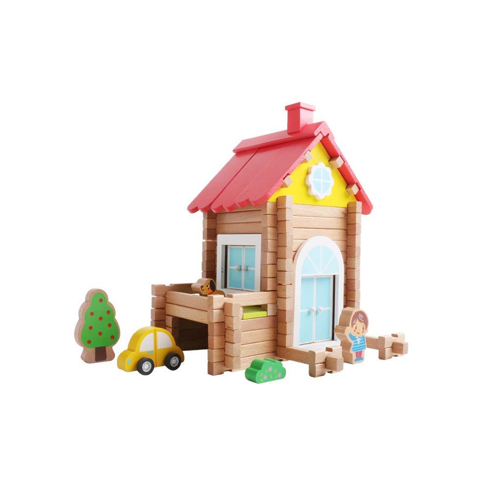 最新デザインの HXGL-おもちゃ 子供の木のおもちゃ手作りの別荘ビルディングブロックギフト (色 : Villa - Villa 98) HXGL-おもちゃ B07MNZNH5X : Villa - 98, カー用品のブラッサム:7e0d472d --- arianechie.dominiotemporario.com