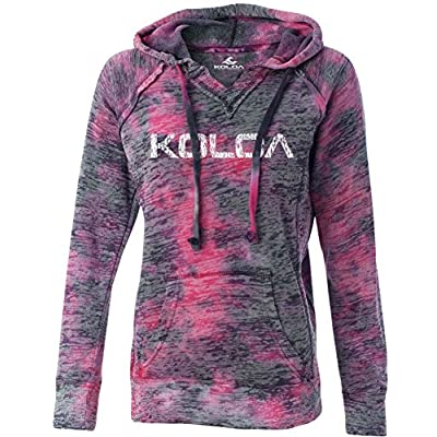New Koloa Surf Co. Womens KOLOA Logo V-Neck Burnout Hoodies supplier