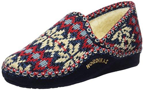 Zapatillas Por De Estar Para Nordikas Classic Azul Casa Mujer marino 5wHIxwq6U