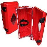 feuerl scher schutzbox schrank 12 kg feuerl scher lkw aussenbereich baumarkt. Black Bedroom Furniture Sets. Home Design Ideas