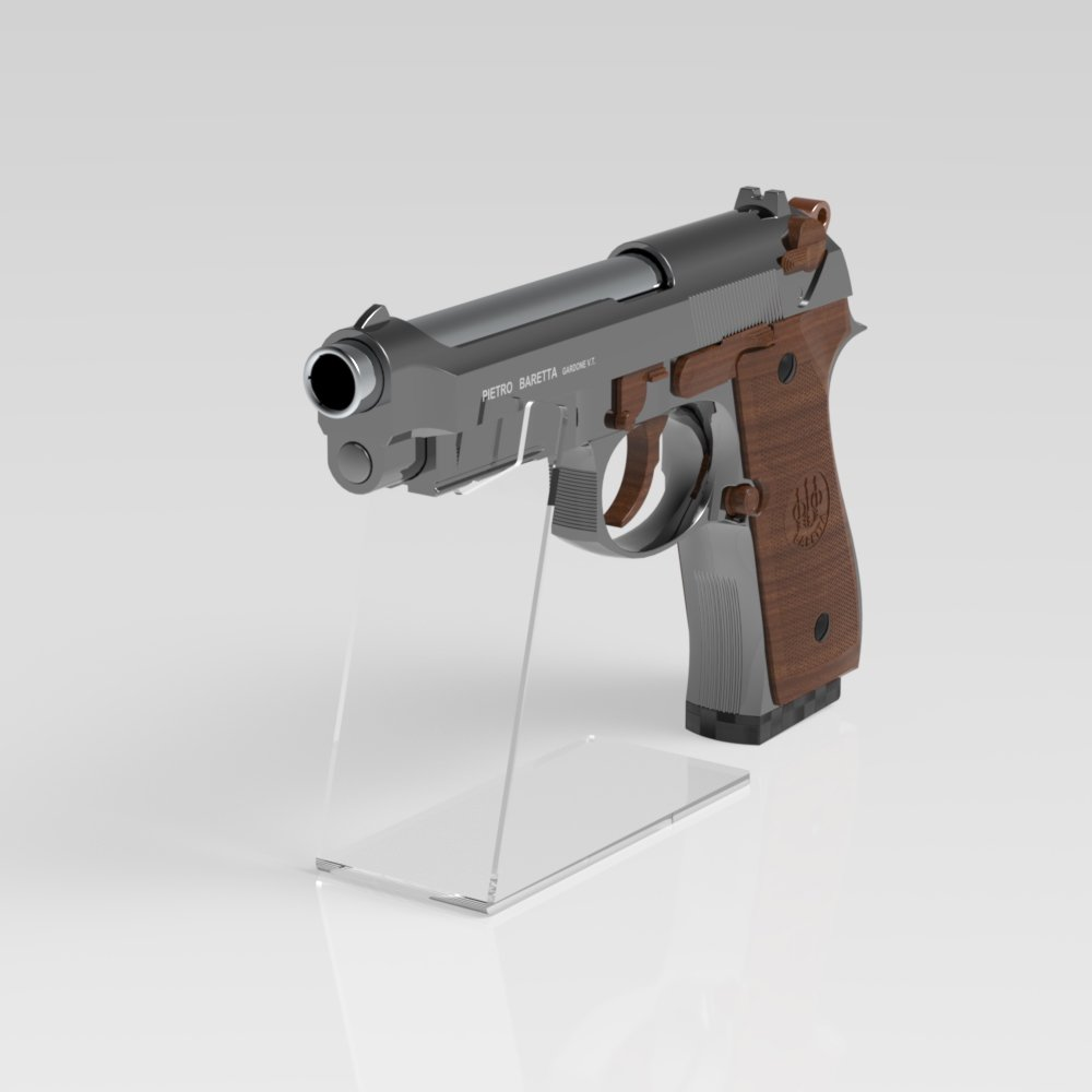 Hunting Accessories Other Hunting Accessories Useful Airsoft Pistol Display Stand In Clear Acrylic