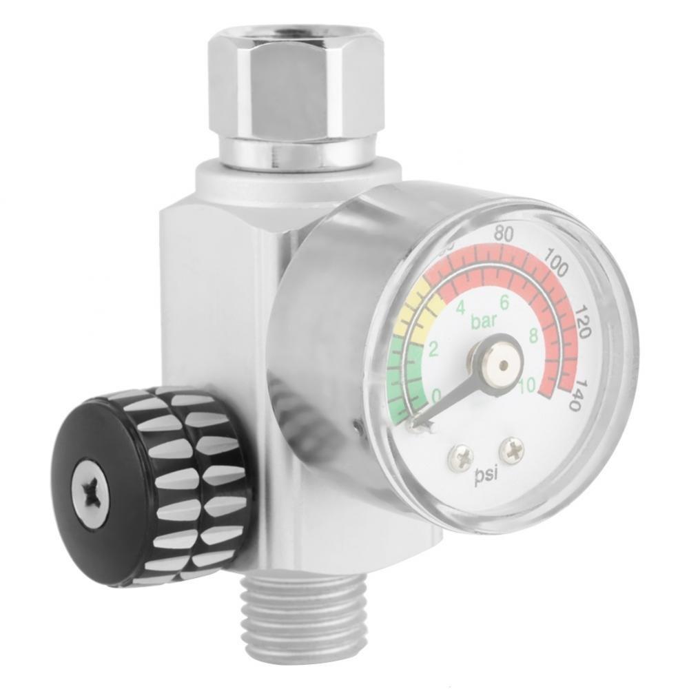 Air Pressure Regulator, Digital Air Adjusting Valve Regulator for Paint Spray Guns and all Air Compressor Tools