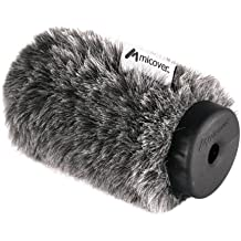 14cm Micover Puffin Wind Diffusion Windscreen for Shotgun Microphones