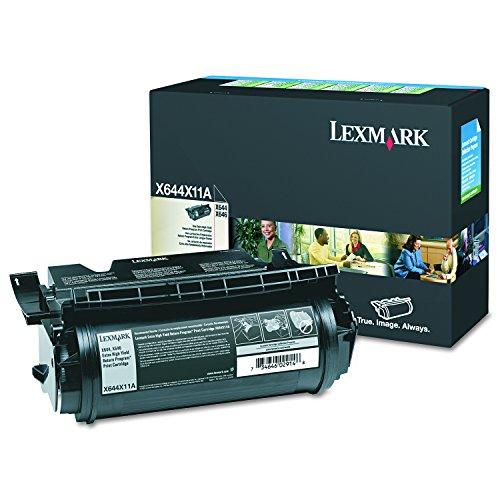 Lexmark X644X11A Black Extra High Yield Return Program Toner - X646e Printer Laser