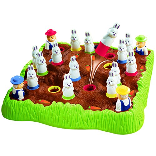 Educational Insights Bunny Hop | Memory & Color Recognition Preschool Game | 2-4 Players | For Ages 4+