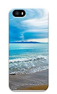 iPhone 5 5S Case Turquoise Beach 3D Custom iPhone 5 5S Case Cover by lolosakes